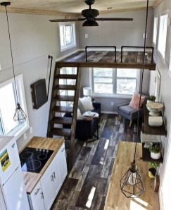 Cute Tiny House Design Ideas On Wheels That You Must Have Now 10