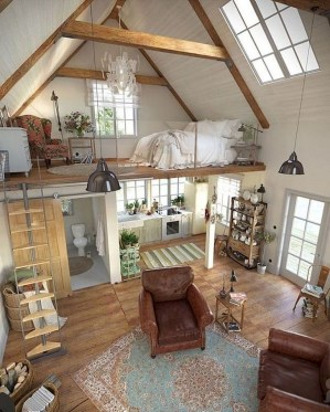 Cute Tiny House Design Ideas On Wheels That You Must Have Now 27