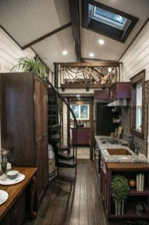Cute Tiny House Design Ideas On Wheels That You Must Have Now 37