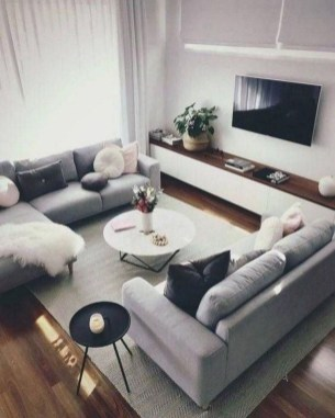 Fancy Sofa Design Ideas For Minimalist Living Room To Try 16