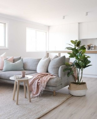 Fancy Sofa Design Ideas For Minimalist Living Room To Try 34