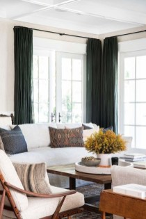 Favorite Living Room Curtain Design Ideas To Enhance Your Living Room 04