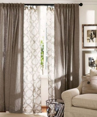 Favorite Living Room Curtain Design Ideas To Enhance Your Living Room 15