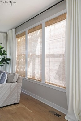 Favorite Living Room Curtain Design Ideas To Enhance Your Living Room 25