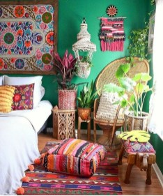 Glamorous Bohemian Bedroom Design Ideas Must You Try Now 20