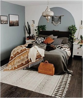 Glamorous Bohemian Bedroom Design Ideas Must You Try Now 25