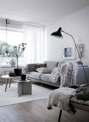 Gorgeous Nordic Living Room Design Ideas You Should Have 24
