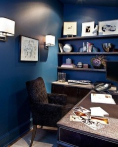 Gorgeous Traditional Small Home Office Design Ideas For You To Have 02