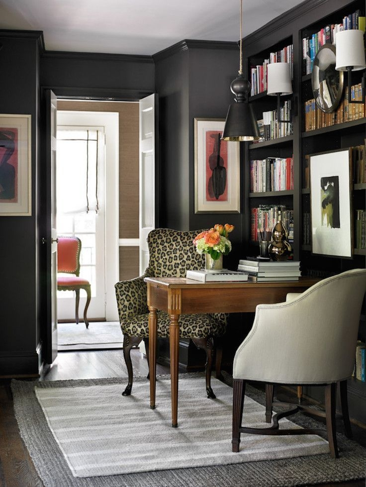 Gorgeous Traditional Small Home Office Design Ideas For You To Have 15