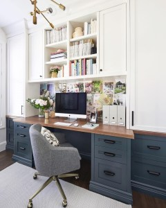 Gorgeous Traditional Small Home Office Design Ideas For You To Have 19