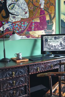 Gorgeous Traditional Small Home Office Design Ideas For You To Have 32
