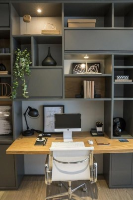 Gorgeous Traditional Small Home Office Design Ideas For You To Have 42
