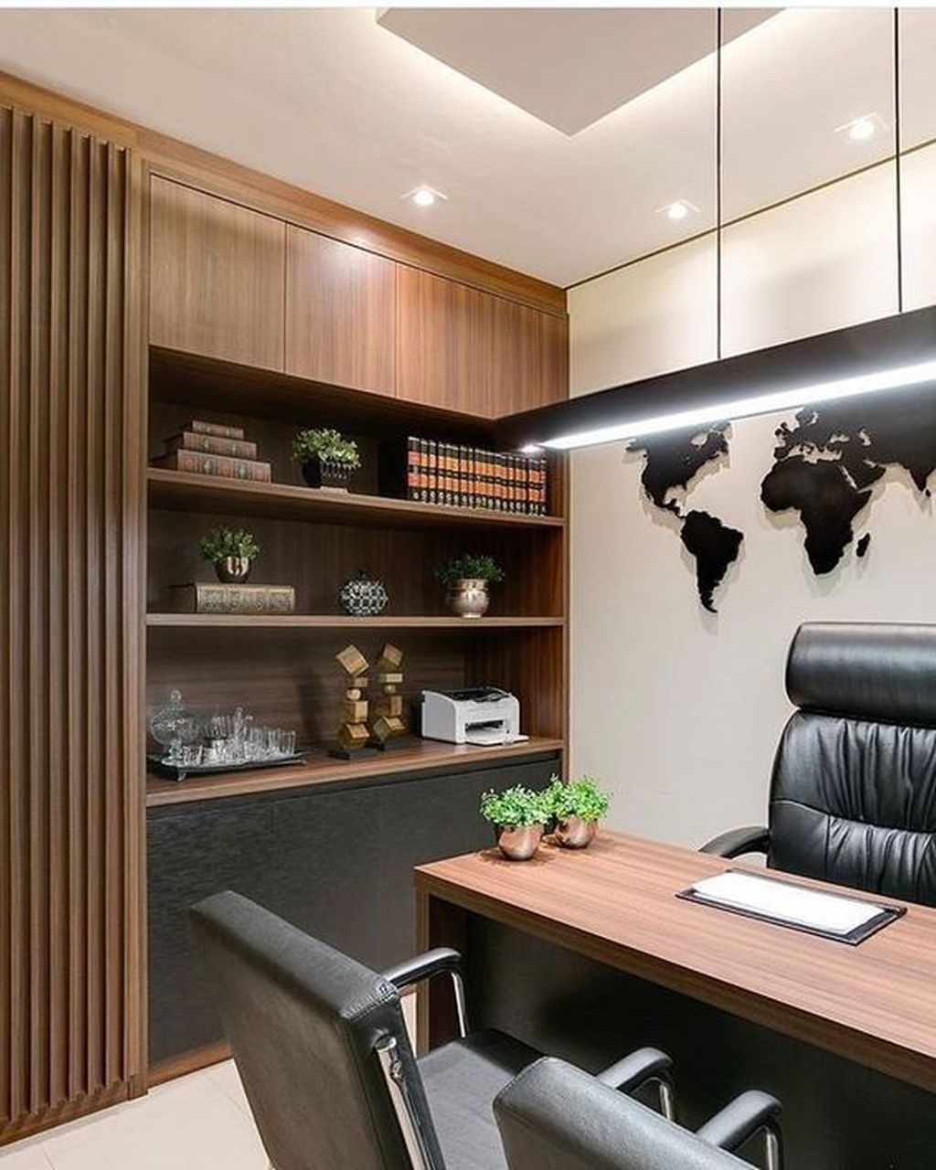 20+ Gorgeous Traditional Small Home Office Design Ideas For ...