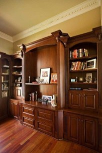 Gorgeous Traditional Small Home Office Design Ideas For You To Have 48