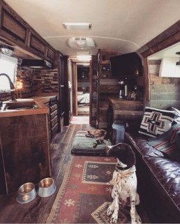 Incredible Rv Motorhome Interior Design Ideas For Summer Holiday 21