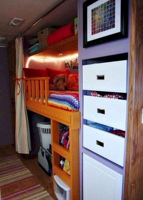 Magnificient Camper Storage Design Ideas You Must Know And Have 26