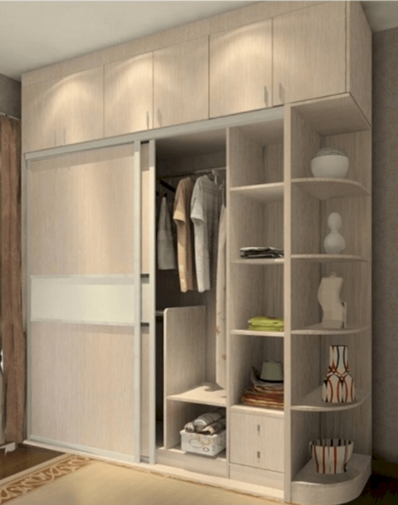 Marvelous Bedroom Cabinet Design Ideas For Your Home Inspiration 29