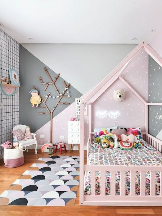 Adorable Bedroom Kids Design Ideas That Looks So Funny 04