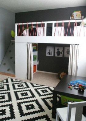 Adorable Bedroom Kids Design Ideas That Looks So Funny 15
