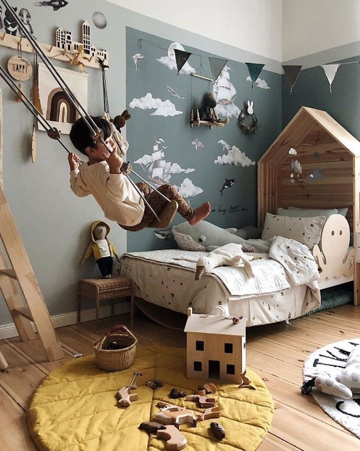 Adorable Bedroom Kids Design Ideas That Looks So Funny 21