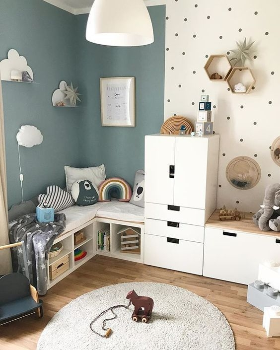 Adorable Bedroom Kids Design Ideas That Looks So Funny 30