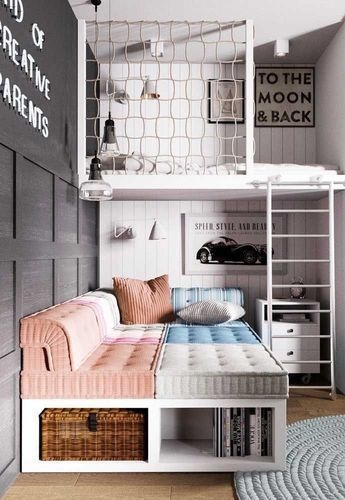 Adorable Bedroom Kids Design Ideas That Looks So Funny 33