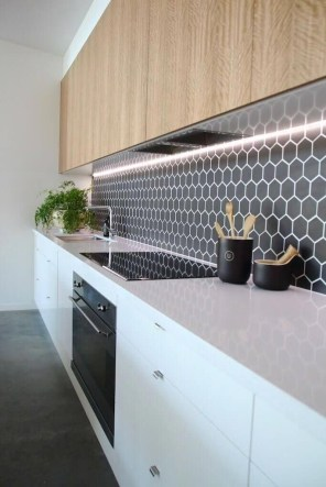 Affordable Kitchen Wall Tile Design Ideas To Try Right Now 15
