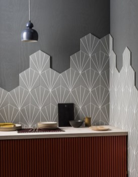 Affordable Kitchen Wall Tile Design Ideas To Try Right Now 33