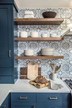 Affordable Kitchen Wall Tile Design Ideas To Try Right Now 35