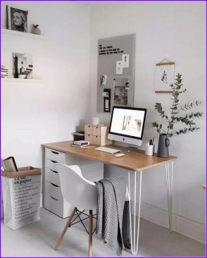 Astonishing Small Home Office Design Ideas To Try Today 34