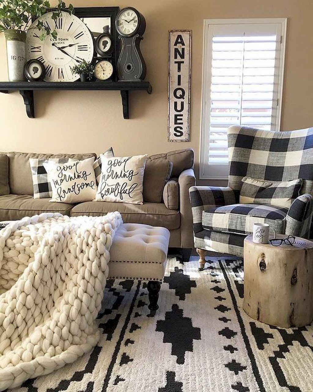 Comfy Farmhouse Living Room Decor Ideas To Try This Year 14