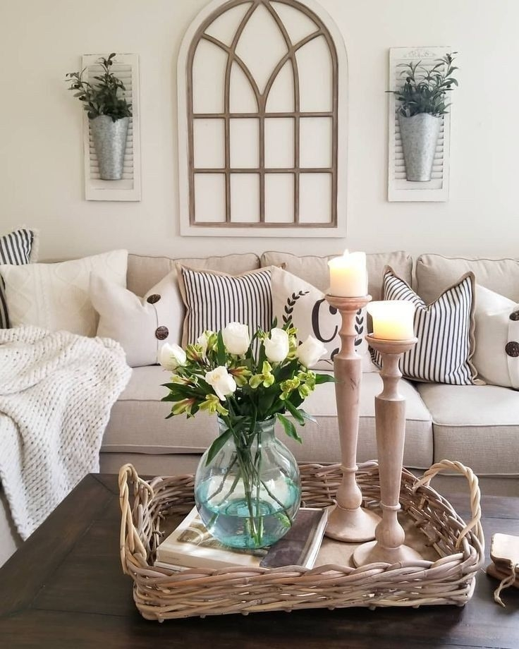 Comfy Farmhouse Living Room Decor Ideas To Try This Year 17