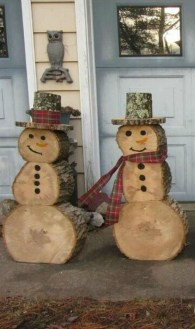 Cozy Outdoor Christmas Decor Ideas To Have Asap 13