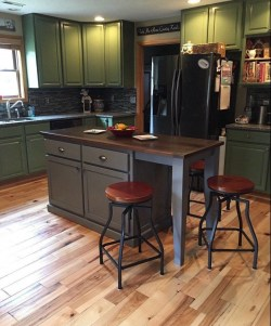 Creative Kitchen Island Design Ideas For Your Home 20