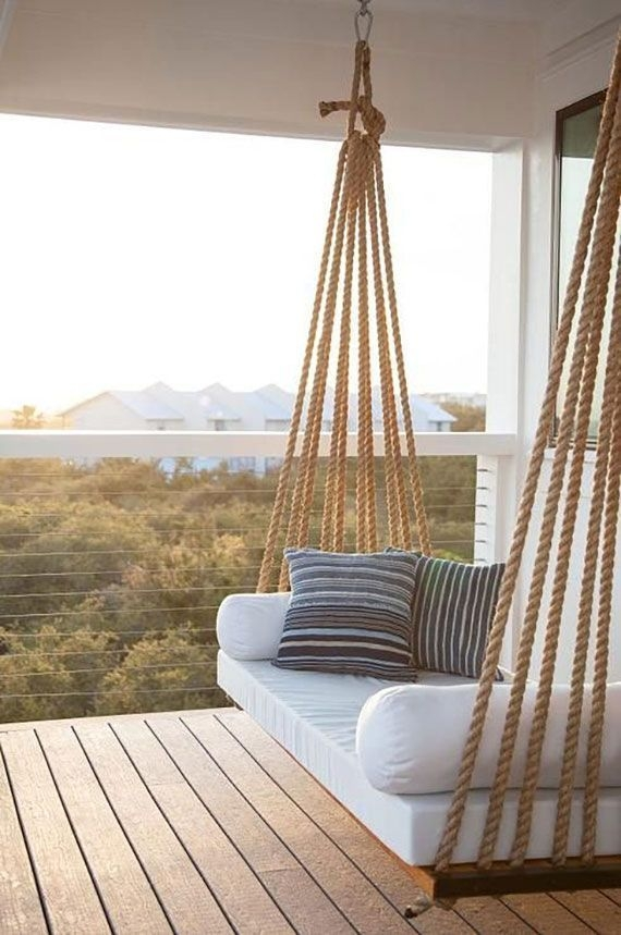 Creative Swing Chairs Garden Ideas That Looks Adorable 06