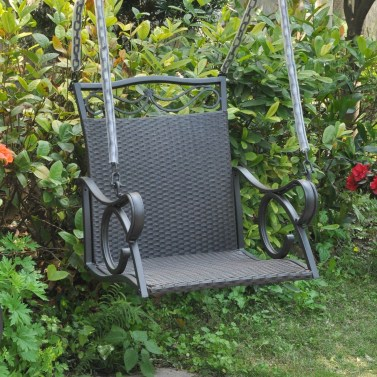 Creative Swing Chairs Garden Ideas That Looks Adorable 07