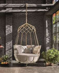 Creative Swing Chairs Garden Ideas That Looks Adorable 13