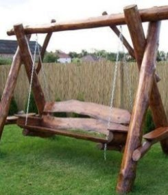 Creative Swing Chairs Garden Ideas That Looks Adorable 14