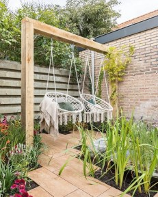 Creative Swing Chairs Garden Ideas That Looks Adorable 22