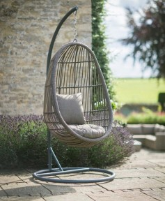 Creative Swing Chairs Garden Ideas That Looks Adorable 23