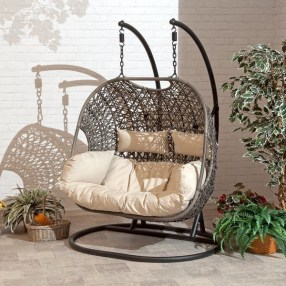 Creative Swing Chairs Garden Ideas That Looks Adorable 35