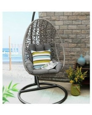 Creative Swing Chairs Garden Ideas That Looks Adorable 38