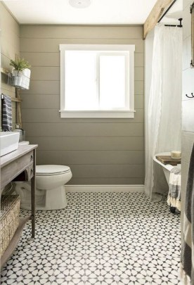 Enjoying Small Bathroom Floor Tile Design Ideas To Inspire You 06