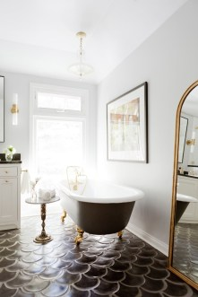 Enjoying Small Bathroom Floor Tile Design Ideas To Inspire You 20
