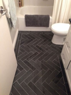 Enjoying Small Bathroom Floor Tile Design Ideas To Inspire You 22