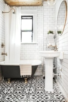 Enjoying Small Bathroom Floor Tile Design Ideas To Inspire You 48