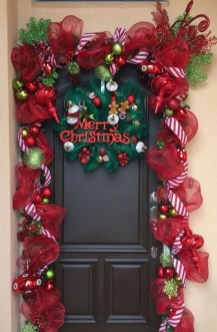 Inspiring Diy Christmas Door Decorations Ideas For Home And School 12