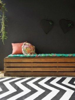 Latest Diy Storage Bench Design Ideas For Your Unique Living Room Decoration 13