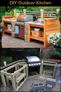 Luxury Outdoor Kitchen Design Ideas That Brings A Cleaner Looks 03