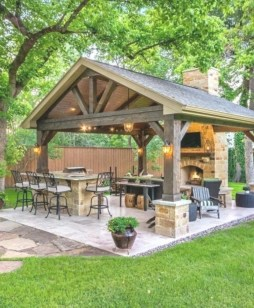 Luxury Outdoor Kitchen Design Ideas That Brings A Cleaner Looks 10